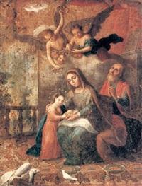 santa ana instruyendo a la virgen by juan patricio morlet[te] ruiz